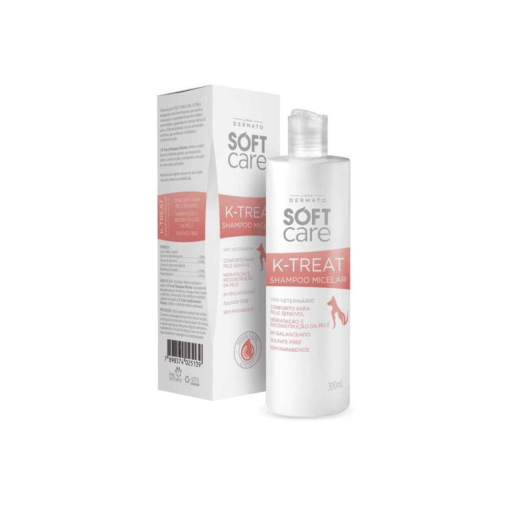 SOFT CARE K-TREAT SHAMPOO MICELAR 300 ML