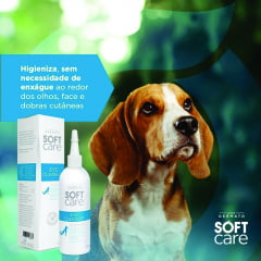 SOFT CARE EYE CLEAN UP 100 ML PET SOCIETY